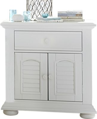 Liberty Summer House I White Nightstand