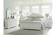 Liberty Summer House I 4-Piece Queen Panel Bedroom Set
