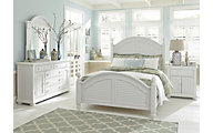 Liberty Summer House I Queen Poster Bedroom Set