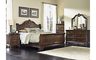 Liberty Highland Court Queen Sleigh Bedroom Set