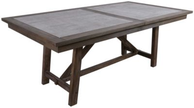 Liberty Stonebrook Trestle Table