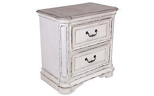 Liberty Magnolia Manor White Nightstand