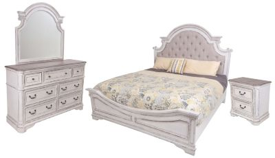 Liberty Magnolia Manor 4 Piece King Bedroom Set