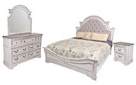 Liberty Magnolia Manor 4-Piece King Bedroom Set