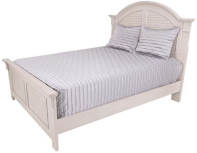 Liberty Summer House II Gray Queen Panel Bed