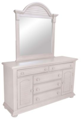 Liberty Summer House II Gray Dresser with Mirror