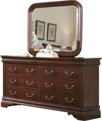 Liberty Carriage Court Dresser with Mirror