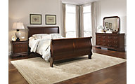 Liberty Carriage Court 4-Piece Queen Sleigh Bedroom Set