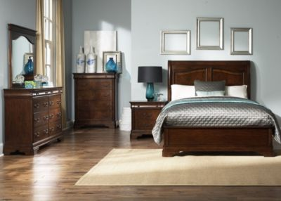 Liberty Alexandria 4-Piece Queen Sleigh Bedroom Set