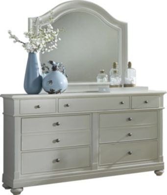 Liberty Harbor View III 7-Drawer Dresser with Mirror