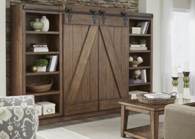 Liberty Lancaster Barn Door Entertainment Center