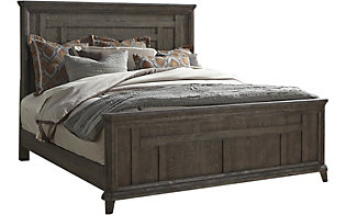Liberty Artisan Prairie King Panel Bed
