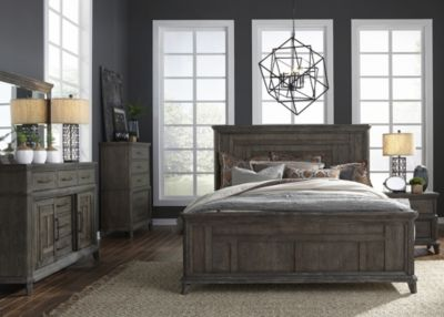 Liberty Artisan Prairie 4-Piece Queen Bedroom Set