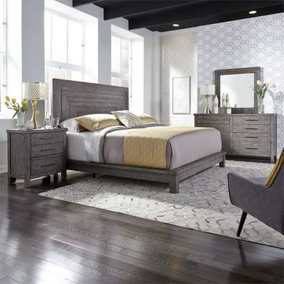 Liberty Modern Farmhouse Queen Bedroom Set Homemakers Furniture