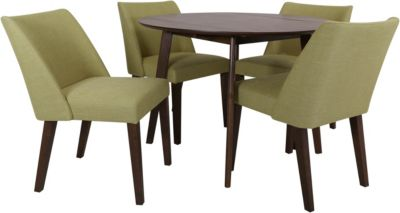 Liberty Space Savers Green 5-Piece Dining Set