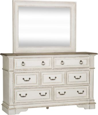 Liberty Abbey Park Dresser with Mirror
