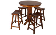 Liberty Creations II Pub Table & 4 Stools