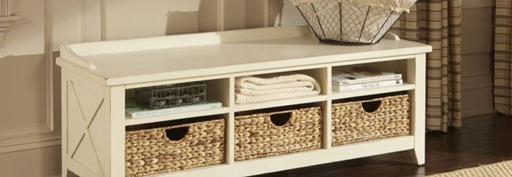 storage benches and entryway benches