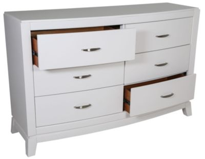 Liberty Avalon II White Kids' Dresser