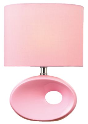 Lite Source Hennessy II Pink Table Lamp