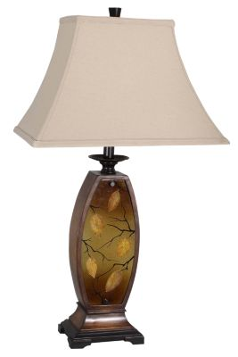 Lite Source Leaf Lamp with Nightlight