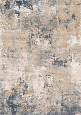 Loloi Teagan Sand and Mist 5' X 8' Rug