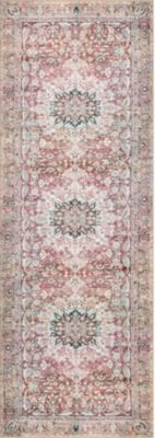 Loloi Wynter 2' X 8' Red Rug