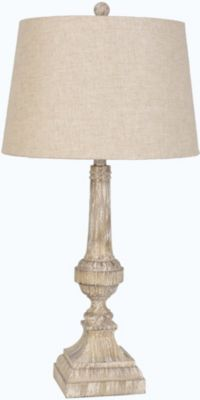 Lamps Per Se Antique White Table Lamp