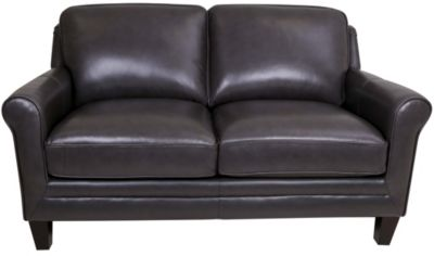 Leather Italia Andover 100% Leather Loveseat