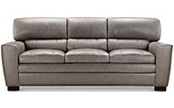 Leather Italia Wilson 100% Leather Sofa