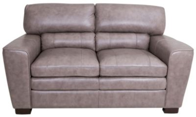 Leather Italia Wilson 100% Leather Loveseat