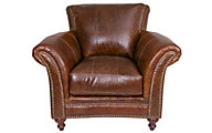 Leather Italia Butler 100% Leather Chair