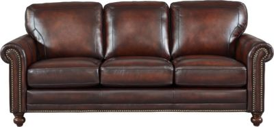 Leather Italia Hampton 100% Leather Sofa
