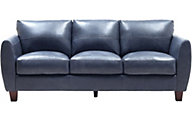 Leather Italia Traverse 100% Leather Sofa