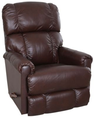 La-Z-Boy Pinnacle Leather Brown Rocker Recliner