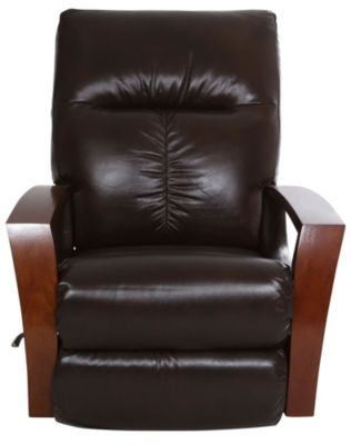 La-Z-Boy Maxx Espresso Leather Rocker Recliner