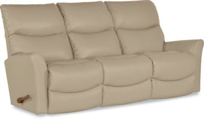 La Z Boy Rowan Leather Reclining Sofa