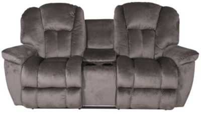 Stupendous La Z Boy Maverick Reclining Loveseat With Console Creativecarmelina Interior Chair Design Creativecarmelinacom
