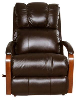 La-Z-Boy Harbor Town Espresso 100% Leather Rocker Recliner