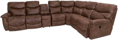 La-Z-Boy James 5-Piece Reclining Sectional