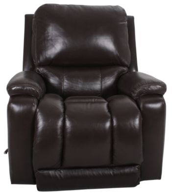 La-Z-Boy Greyson Brown 100% Leather Rocker Recliner