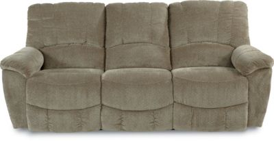 La-Z-Boy Hayes Green Power Reclining Sofa