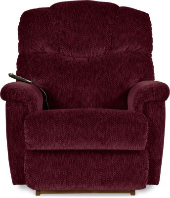 La-Z-Boy Lancer Burgundy Power Rocker Recliner w/Hand Wand