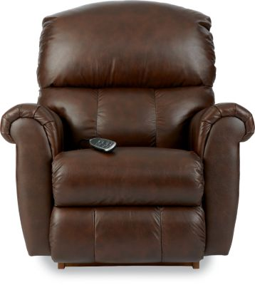 La-Z-Boy Briggs Leather Power Rocker Recliner w/Hand Wand