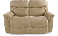 La-Z-Boy James Sand Reclining Loveseat