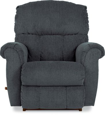 La-Z-Boy Briggs Stone Blue Rocker Recliner