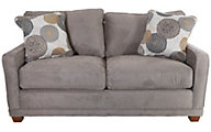 La-Z-Boy Kennedy Full Memory Foam Sleeper Loveseat