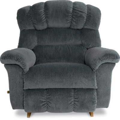 La-Z-Boy Crandell Gray Rocker Recliner