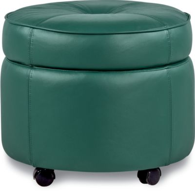 La-Z-Boy U-Turn 100% Leather Storage Ottoman