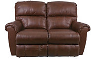 La-Z-Boy Briggs Leather Reclining Loveseat